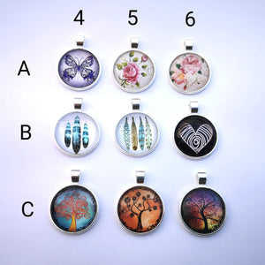 Glass Dome Pendants #2