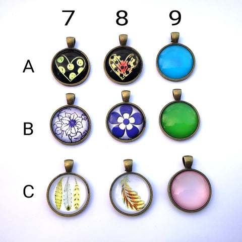 Glass Dome Pendants #3
