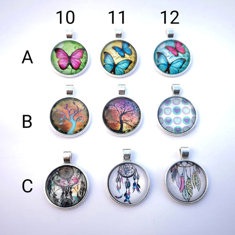 Glass Dome Pendants #4