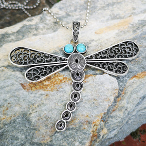 Dragonfly with Turquoise Eyes