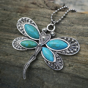 Dragonfly with Turquoise Wings