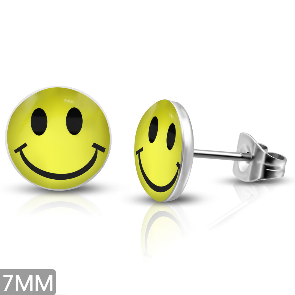 Smiley face - yellow