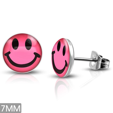 Smiley face - pink