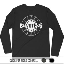 Load image into Gallery viewer, PIZZA PARTY - Premium Fitted Long Sleeve Crew