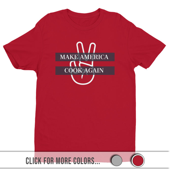 MACA Peace - Premium Graphic Tee (RED)