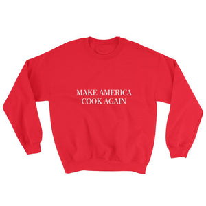 MAKE AMERICA COOK AGAIN - Crew Neck Sweatshirt