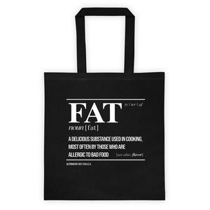 FAT AF - Canvas Tote