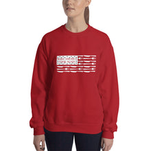Load image into Gallery viewer, MACAmerica FLAG - Crew Neck Sweatshirt
