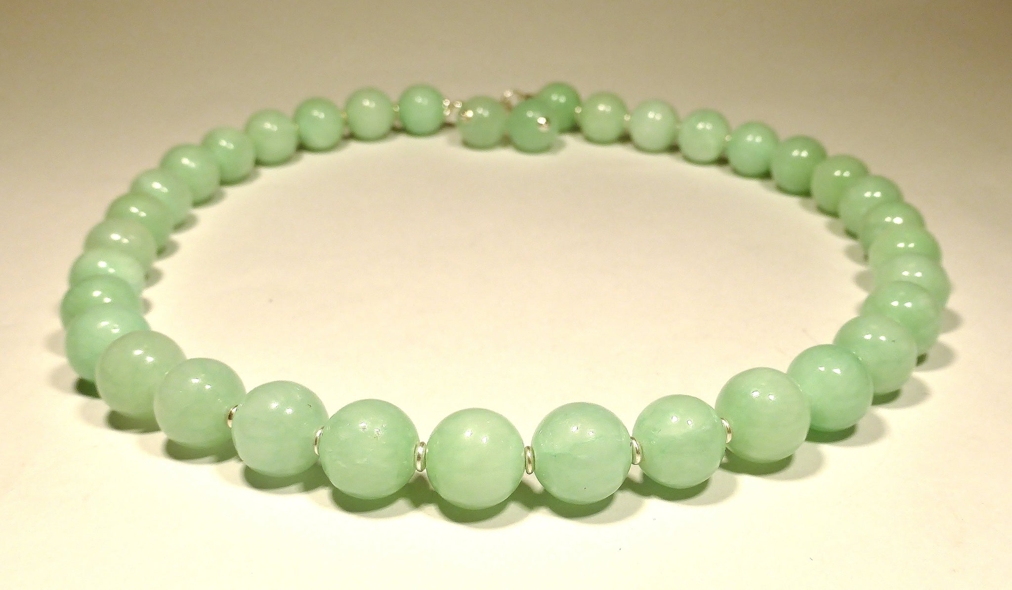 Halsband MADE of JADE - aquagrönt