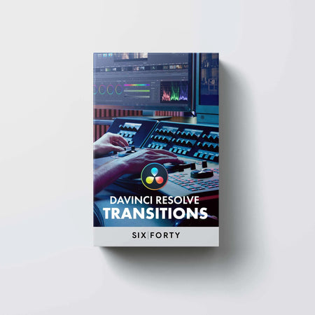 40+ Transitions Pack for DaVinci Resolve!