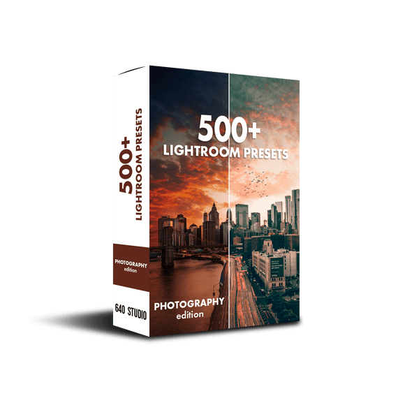 500+ Photography Presets Pack!