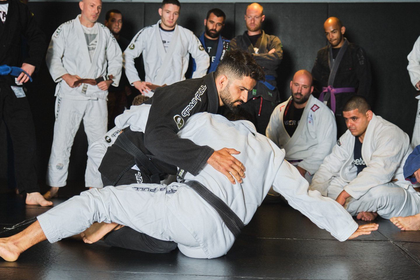 BJJ Technique Teaching