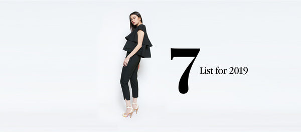 The 7 list for 2019