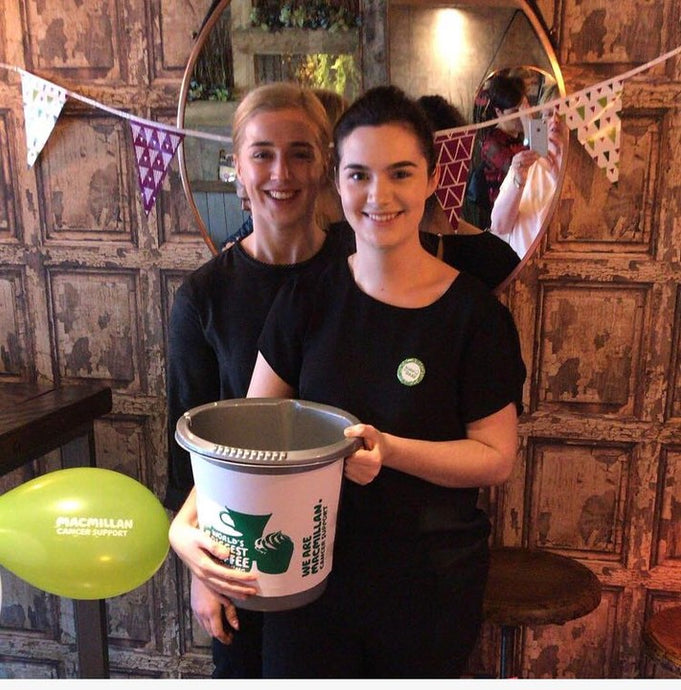 Slim's Healthy Kitchen Raises £1100 For Macmillan Cancer Support