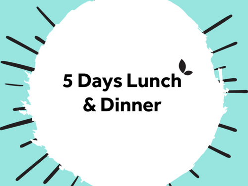 5 Days Lunch & Dinner