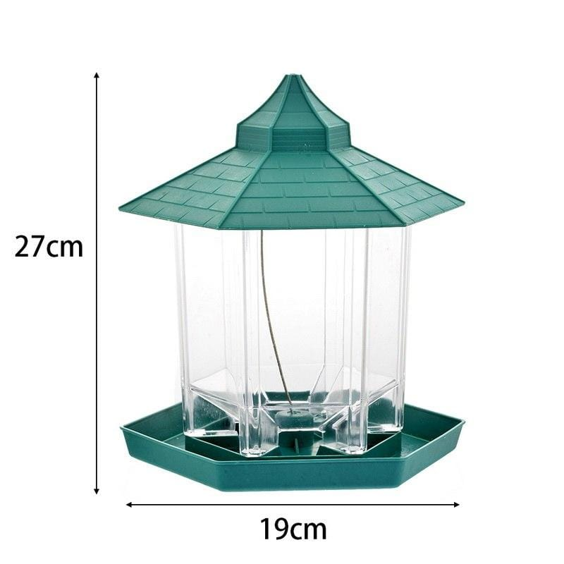 Hanging Bird Feeder Gazebo