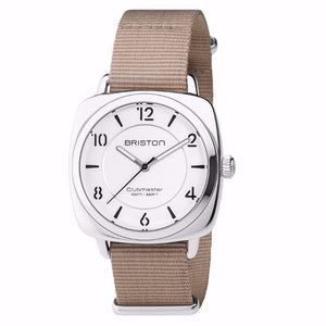 Briston - Clubmaster Chic Steel - HMS white dial