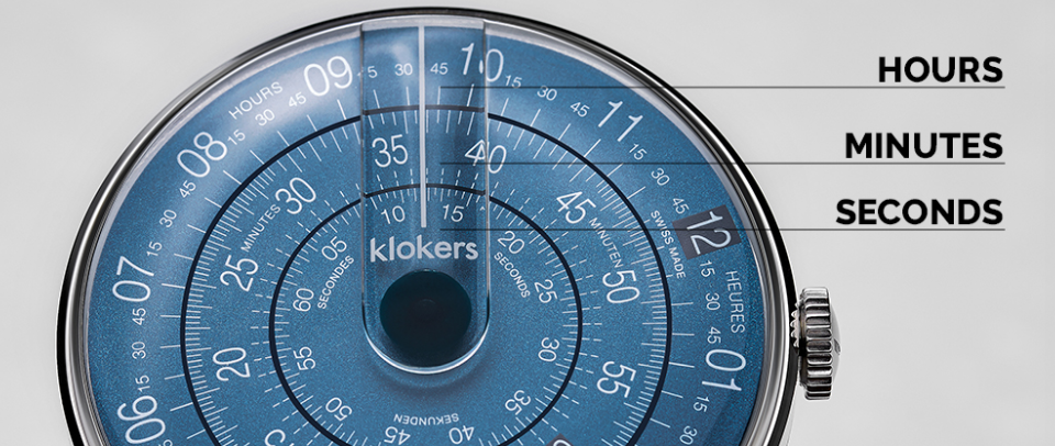 Klokers - KLOK-08 Watch Face