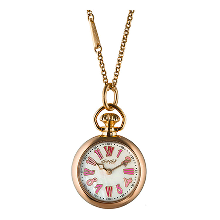 GaGá Milano - Necklace Watch Rose Gold