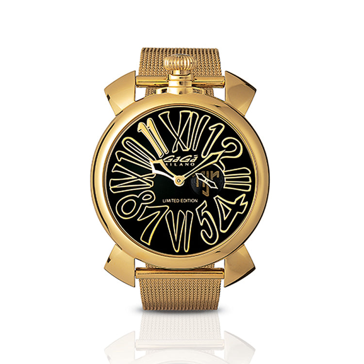 GaGá Milano - Yellow Gold Neymar Jr. Limited Edition