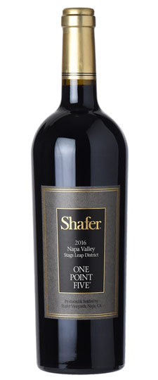 Shafer One Point Five Cabernet Sauvignon  Stags Leap District · United States 2015