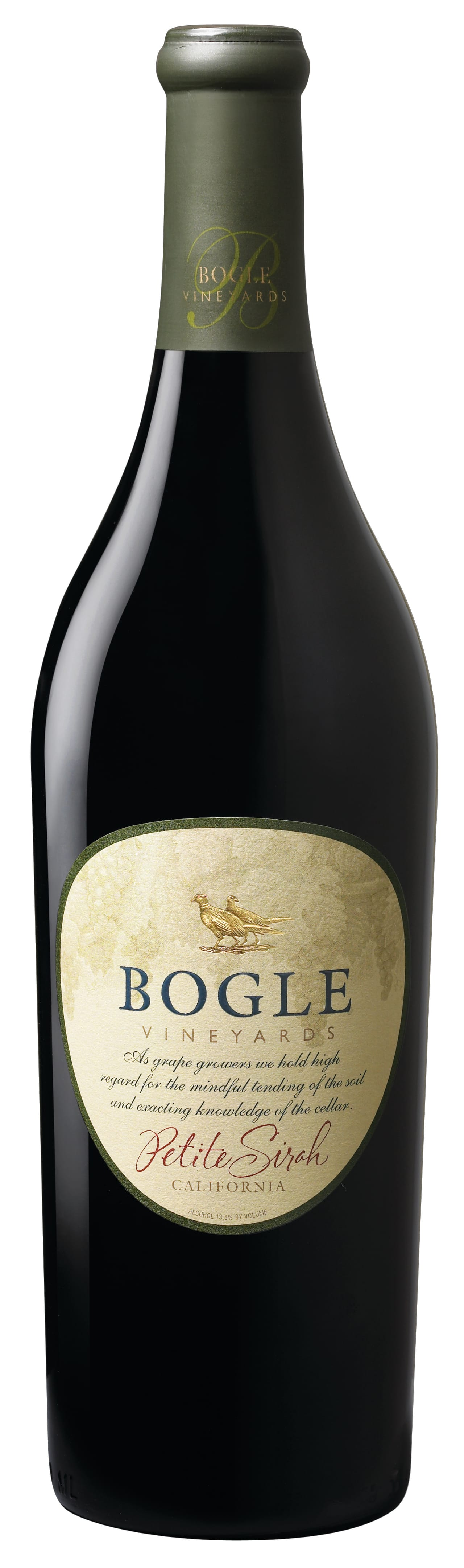 Bogle Petit Syrah California · United States 2016 or Current Vintage