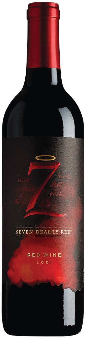 7 Deadly Red Blend Lodi 2016 or Current Vintage