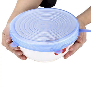 Universal Suction Stretch Lid