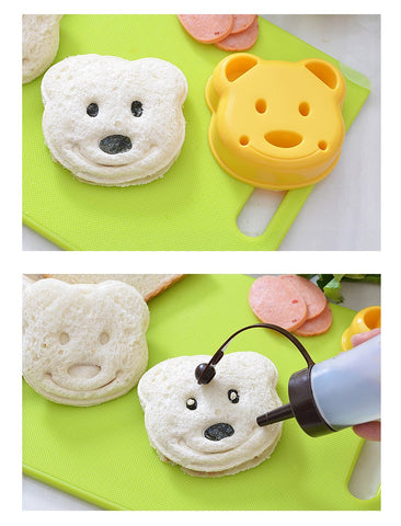 Image of Cute Panda Sandwich Cutter