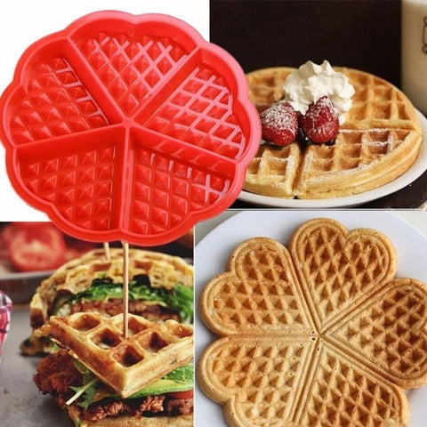 Image of EZY Heart Shaped Waffle Mold