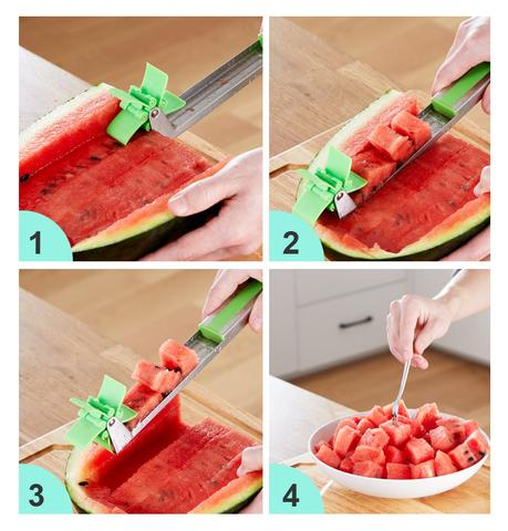 Image of Novel Windmill Watermelon Slicer