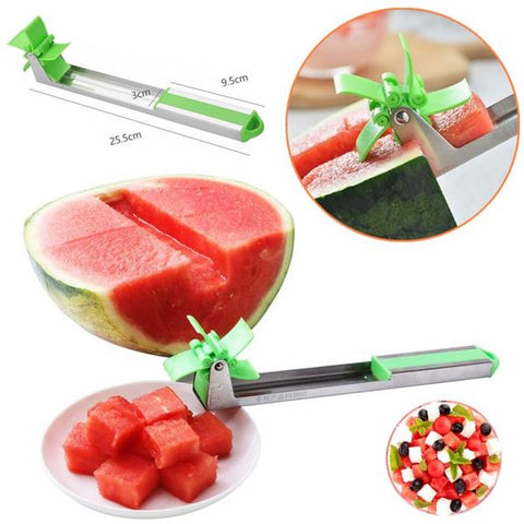 Novel Windmill Watermelon Slicer