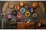 Metal Bottle Cap Wall Signs
