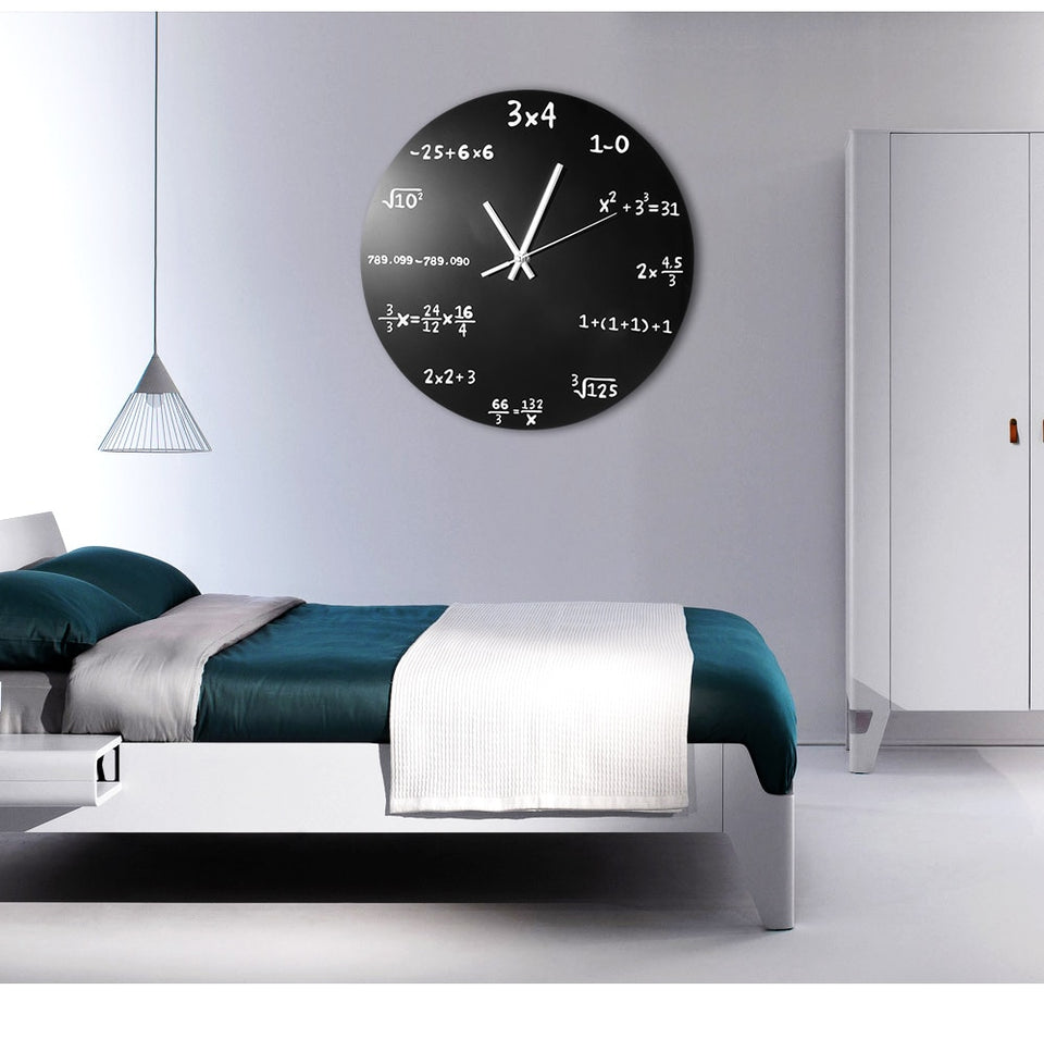 Math Equations Wall Clock 2