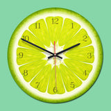 Tropical Fruit Wall Clock