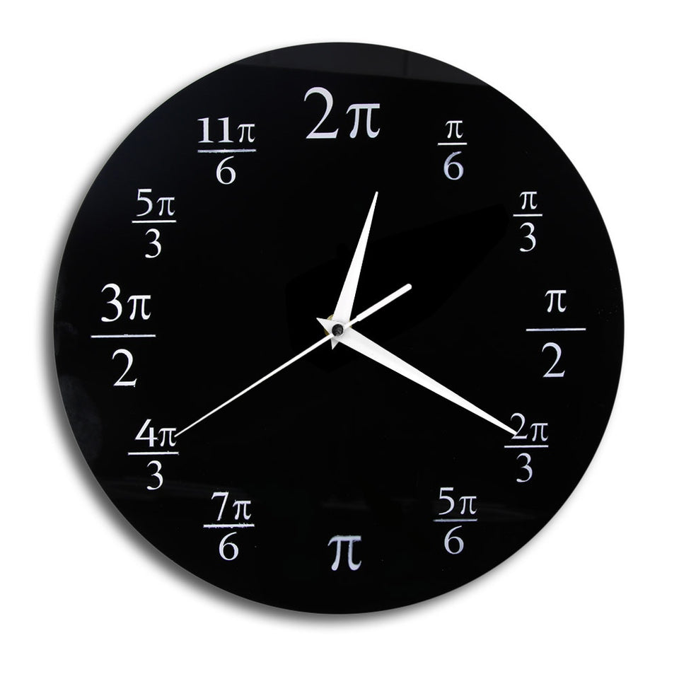 The Pi Math Wall Clock