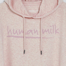 Human Milk Signature hoodie - Dusty pink