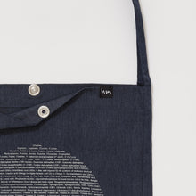 Supermoon lightweight tote bag - Navy