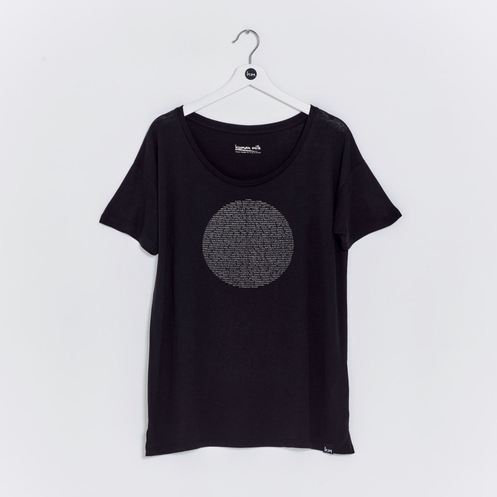 Full Moon t-shirt - Black