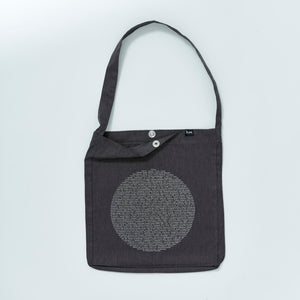 Supermoon lightweight tote bag - Grey