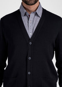 Saint James traditional Cardigan 'Guingamp' 100% New Wool