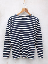 Load image into Gallery viewer, Breton Top | Fairtrade (Navy)