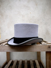 Load image into Gallery viewer, Ascot Morning Top Hat (Grey)