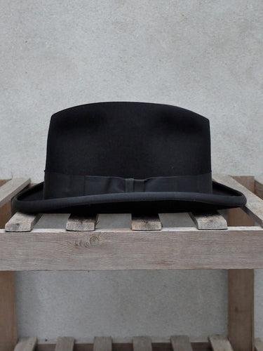 Homburg Hat (Black)