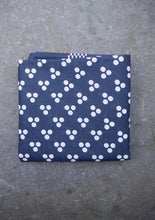 Load image into Gallery viewer, Spotted Hankerchief (Blue)