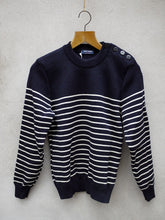 Load image into Gallery viewer, Breton Jumper | Binic (Navy)