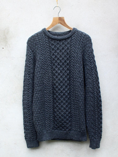 Cable Knit Jumper (Grey)