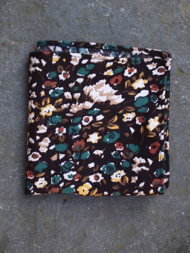 Pocket Square | Woodland (Brown)