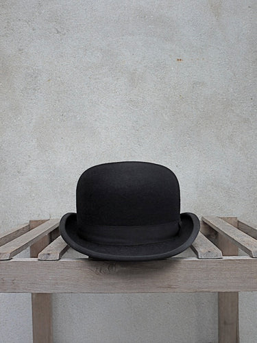 Black Fur-Felt Bowler Hat