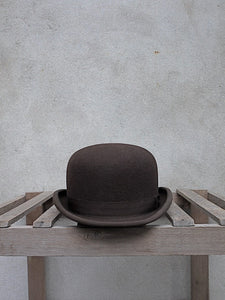 Brown Bowler Hat